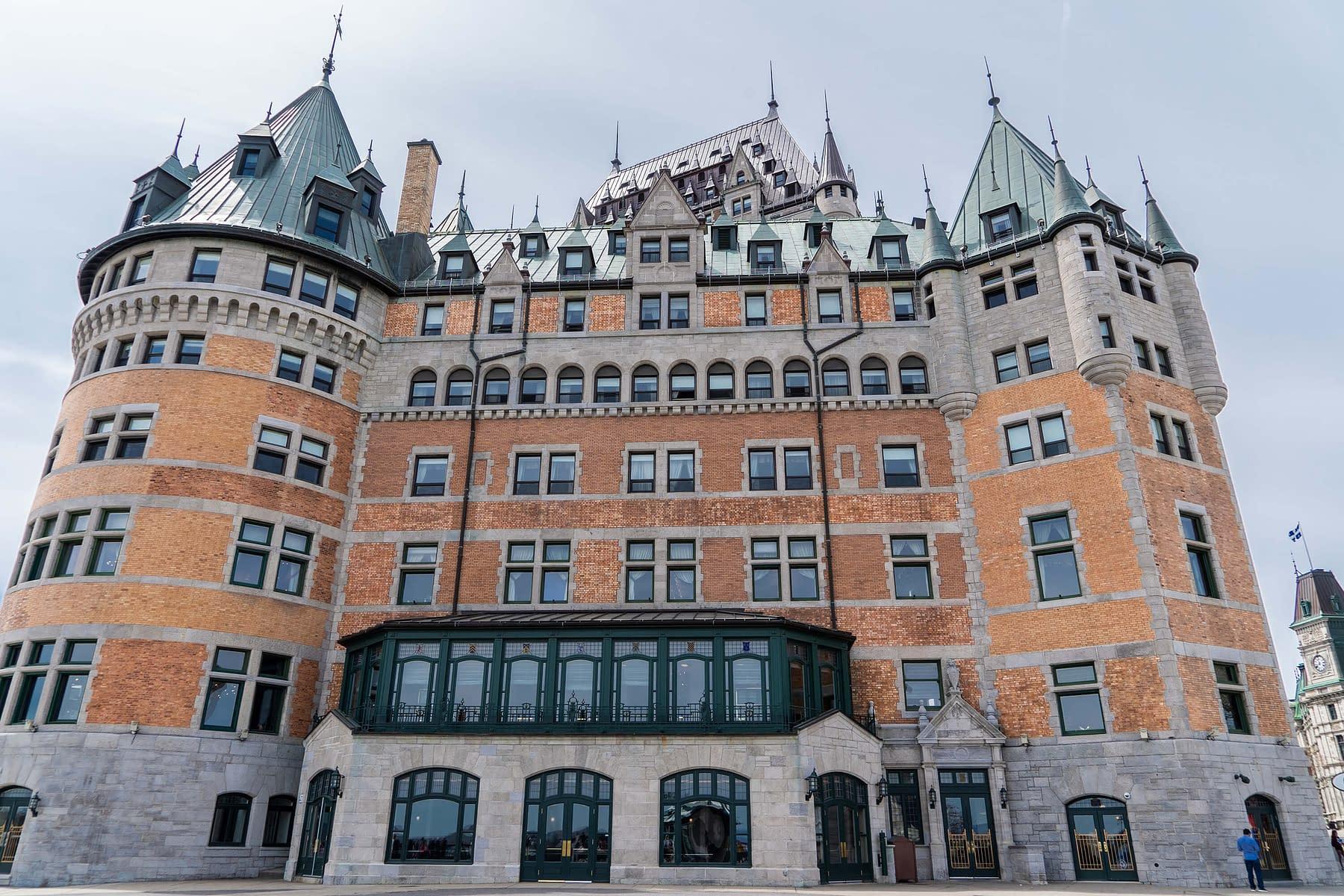centre commercial du château au Canada