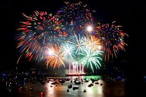 festival des feux d'artifice au Canada