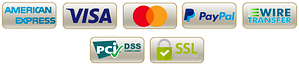 logos for payment options